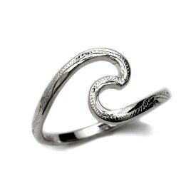 リング 指輪 ハワイアンジュエリー レディース 女性 シルバーリング シルバー 925 Nalu ウェーブ 波 リング ari1369/ プレゼント ギフト