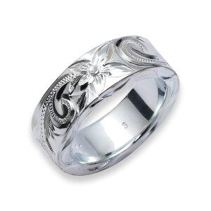 【数量限定】 ハワイアンジュエリー リング 指輪 レディース 女性 メンズ 男性 ペアリングにオススメフラットヘビー シルバーリング シルバー 925 ambri0001sv/ari01381sv