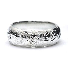 リング 指輪 ハワイアンジュエリー アクセサリー レディース 女性 メンズ 男性 ペアリングにオススメバレル シルバーリング6mm シルバー 925 cvari7106sv プレゼント ギフト