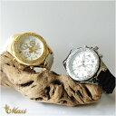 ●新作●ハワイアンジュエリー 腕時計 レディース メンズ アクセサリー [Maxi] クロノグラフ シリコン ウォッチ mwz1319