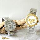 ●新作●ハワイアンジュエリー 腕時計 レディース メンズ アクセサリー [Maxi] クロノグラフ ユニセックス ステンレス ウォッチ mwz1320