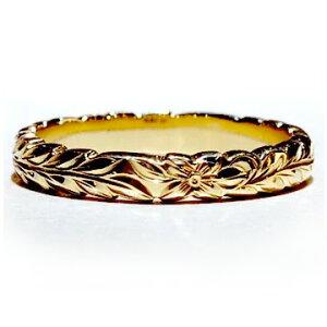 ハワイアンジュエリー リング 指輪 レディース 女性 メンズ 男性 [Maxi]マキシ マイレカットアウトエッジマリッジリング ・K14ゴールド mxri0589 プレゼント ギフト