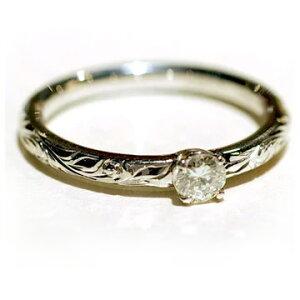 ハワイアンジュエリー リング 指輪 レディース 女性 [Maxi]マキシ プリンセス エンゲージメントリング ダイヤ0.15ct・K18ゴールド mxrier11c プレゼント ギフト