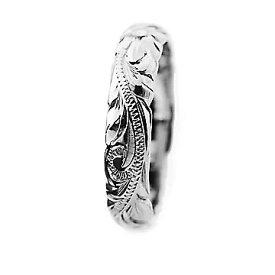 ハワイアンジュエリー リング 指輪 レディース 女性 メンズ 男性 [Maxi]マキシ オールドイングリッシュ・カットアウトリング シルバー 925 mxri0133sv プレゼント ギフト