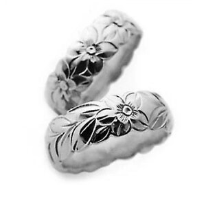 指輪リング ハワイアンジュエリー レディース 女性 メンズ 男性 [Maxi]マキシ カットアウト・トラディショナルリング8mm K14ホワイトゴールド mxri0343wg プレゼント ギフト