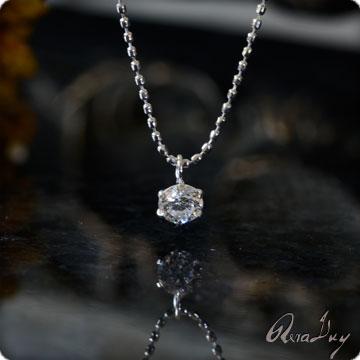 (RERALUy)ネックレス レディース 女性 アクセサリー K18 18金 ゴールド・ひと粒 ダイヤモンド 0.10ct イエローゴールド シンプル ペンダント rpdt0010 ホワイトデー プレゼント ギフト