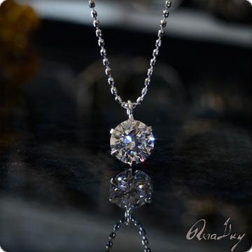 (RERALUy)ネックレス レディース 女性 アクセサリー K18ゴールド・ひと粒ダイヤモンド0.30ct ネックレス rpdt0030 プレゼント ギフト