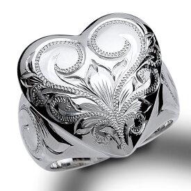 ハワイアンジュエリー リング シルバー925 SILVER925 silver925 指輪 レディース 女性 メンズ 男性(Weliana) ワンハート シルバーリング wri1345/