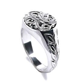 ハワイアンジュエリー リング silver 指輪 レディース 女性 sv925 (Weliana) スクロール シグネット シルバーリング シルバー 925 wri1405 プレゼント ギフト