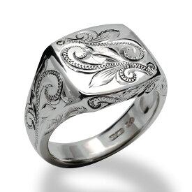 ハワイアンジュエリー シルバー925 SILVER925 silver925 リング 指輪 レディース 女性 メンズ 男性(Weliana) スクロール シグネットリング wri1464 プレゼント ギフト