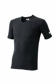 【送料無料!!】HUMMER ハマー 吸汗速乾・消臭機能・形状安定 Vネック半袖リブTシャツ2枚組