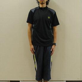 【送料無料】converse コンバース メンズ 吸汗速乾半袖Tシャツ+七分丈パンツ 上下セット