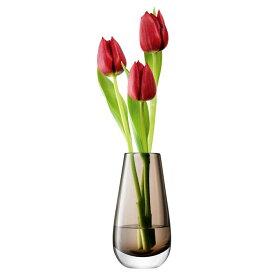 LSA 花器 花瓶 フラワーベース ガラス Flower Colour LFC09 G732-14-552 ブラウン 高さ14cm