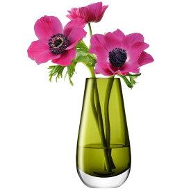 LSA 花器 花瓶 フラワーベース ガラス Flower Colour LFC19 G732-14-414 アンバー 高さ14cm