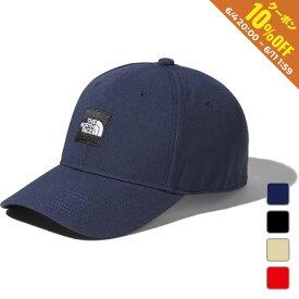 2020春夏 ノースフェイス 帽子 スクエアロゴキャップ Square Logo Cap (NN41911) アウトドアトレッキング THE NORTH FACE