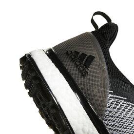 アディダス ゴルフシューズ フォージファイバー ボア メンズ ゴルフ ダイヤル式スパイクレスシューズ 2E ブラック adidas