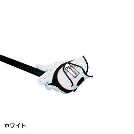 最大10%OFFクーポン【楽天 お買い物マラソン限定 】 〔あす楽対象品〕 スリクソン メンズ ゴルフ グローブ (GGGS003) : ホワイト SRIXON