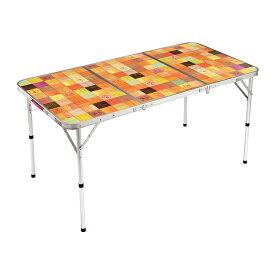 コールマン ナチュラルモザイクリビングテーブル/140プラス (2000026750) キャンプ テーブル Coleman