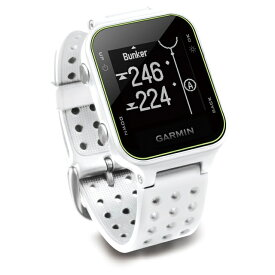 ガーミン s20j アプローチ ゴルフナビ GPS 距離測定器 時計 (010-03723-10) Approach S20J ホワイト 距離計 GARMIN