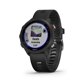 ガーミン ForeAthlete 245 Music Black Red ランニングウォッチ マルチスポーツ GPS トレーニング(010 02120 70)GARMIN