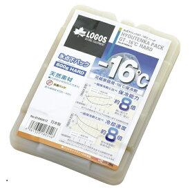 ロゴス 氷点下パックGT-16℃・ハード600g (81660612) キャンプ 保冷剤 LOGOS