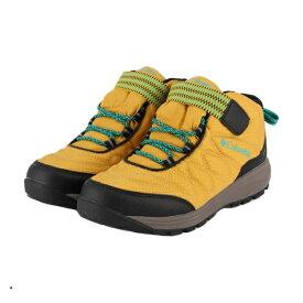 コロンビア YOUTH WILDQUEST MID WATERPROOF (YY1123 793) ジュニア(キッズ・子供) トレッキング シューズ : Acid Yellow Columbia