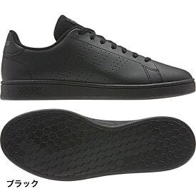 アディダス アドバンコート ベース ADVANCOURT BASE (EE7693) スニーカー : ブラック adidas