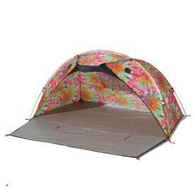 チャムス サンシェードテント 3人用 Booby Face Sunshade (CH62-1320) Tie Dye マリンレジャー CHUMS 熱中症 暑さ対策