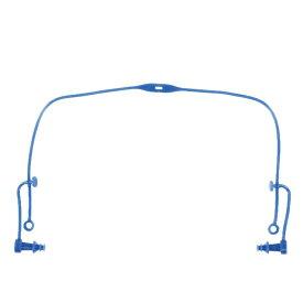 【5/25はエントリー&楽天カードで最大P12倍】 スワンズ 耳栓 コード付きシリコン耳栓 (SA-57N BL) 水泳 小物 SWANS