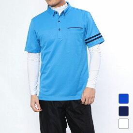 イグニオ メンズ ゴルフウェア セットシャツ ポロシャツ IG-1L1079RYB IGNIO