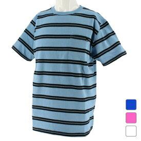 クイックシルバー メンズ サーフ 半袖Tシャツ PELHAM STRIPE ST (QST192051) QUIKSILVER