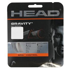 【10/25はエントリーでP10倍!】 ヘッド 硬式テニス ストリング グラビティ 125+120 (281124) HEAD