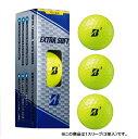 ブリヂストン 19EXTRASOFT イエロー (XBYXJ) 1スリーブ(3球入) ゴルフ 公認球 BRIDGESTONE エキストラソフト