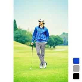 ルコックゴルフ メンズ ゴルフウェア ウインドブレーカー 2WAYブルゾン アウター QGMNJK02