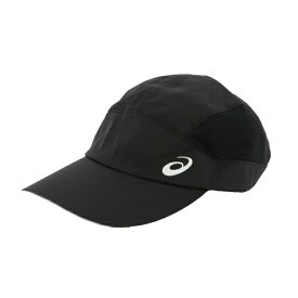 【2/20はエントリー&楽天カードで最大P12倍】 アシックス 陸上 ランニング キャップ ランニングクロスキャップ (3013A160 001) 帽子 : ブラック asics