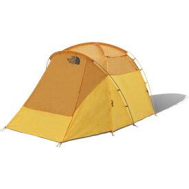 ノースフェイス ワオナ4 Wawona 4 ゴールデンオーク×サフランイエロー NV21703 GF キャンプ シェルター スクリーンテント 4人用 THE NORTH FACE