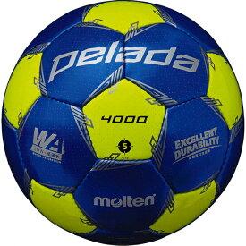 モルテン ペレーダ4000 (F5L4000-BL) サッカーボール 5号球 試合球 molten