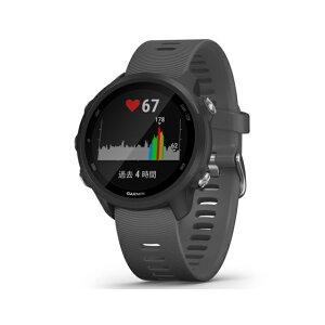 ガーミン ForeAthlete245 Black Slate (0100212042 BK) ランニングウォッチ マルチスポーツ GPSウォッチ 腕時計 GARMIN