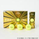 キャロウェイ BL CG ERC 19 BOLD YLW 3B PK JM (0228742315) ゴルフ 公認球 1スリーブ(3球入) イーアールシー イエロー Callaway