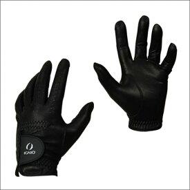イグニオ 〔特選品〕 メンズ ゴルフグローブ〔天然羊革〕 (IG-1G1026GG) 〔左手〕