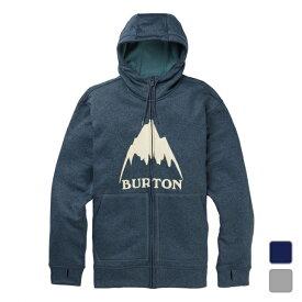 エントリーで店内全品3個でP10倍、2個でP5倍!1/9 20時〜1/15限定! バートン メンズ スウェットフルジップパーカー Mens Oak Full-Zip (16224108) Burton