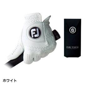 〔あす楽対象品〕 フットジョイ PURE TOUCH TOUR LIMITED ピュアタッチ (FGPU) :ホワイト ゴルフグローブ 手袋 左手 メンズ golf5