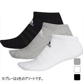 アディダス 3P ソックス パフォーマンス アンクルソックス (FIX60) 3足組 靴下 adidas 191011aparel