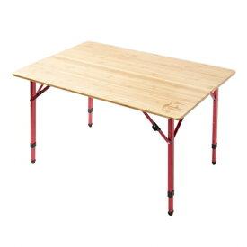 チャムス Bamboo Table 100 (CH62-1361) キャンプ テーブル CHUMS