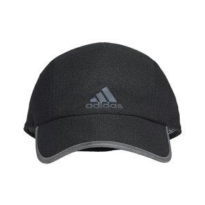 アディダス 陸上 ランニング キャップ RUN MES CA A.R. FK0838 帽子 : ブラック×ブラック adidas 191011running
