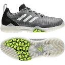 アディダス ゴルフシューズ コードカオス (EPC15) メンズ ゴルフ シューレース式スパイクレスシューズ 2E グレー adidas