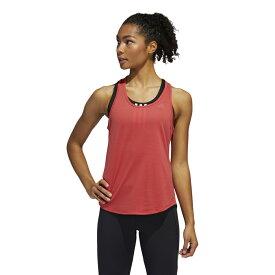 アディダス レディース 陸上 ランニング 半袖Tシャツ ADAPT 2in1 TシャツW FL6005 : ピンク adidas 191011running 20clearancewear