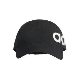 最大10%OFFクーポン【スーパーSALE限定】 アディダス キャップ リニアロゴBOLDベースボールキャップ FL3713 帽子 : ブラック×ホワイト adidas 191011aparel