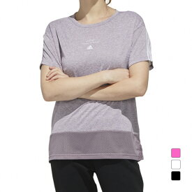 アディダス レディース Tシャツ 半袖Tシャツ GUN63 スポーツウェア adidas 191011aparel PLAY CASUAL 20clearancewear 0529T