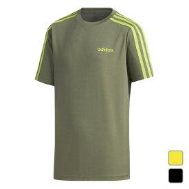 【7/5はエントリーでP10倍!】 アディダス ジュニア キッズ・子供 Tシャツ 半袖Tシャツ BD2M3ストライプスTシャツ HAF05 スポーツウェア adidas 191011aparel 20clearancewear